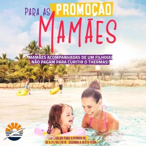 Imagem representativa: Promoção Mês das Mães Thermas | Olímpia SP | Reserve Agora