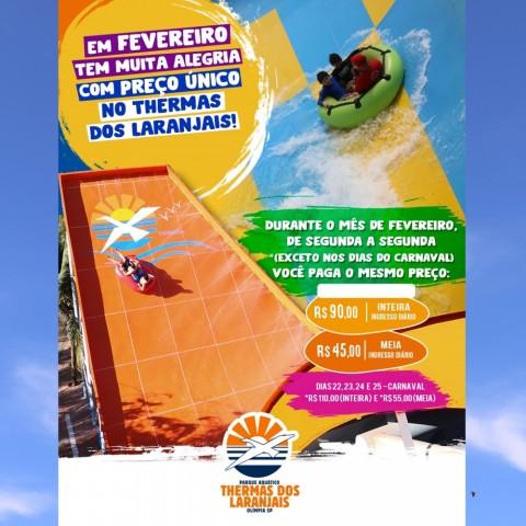 Imagem representativa: Promoção Passport Discount Thermas dos Laranjais | Olímpia SP | Reserve Agora