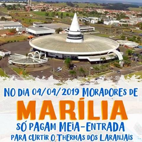 Imagem representativa: Promoção Marília Thermas | Olímpia SP | Reserve Agora
